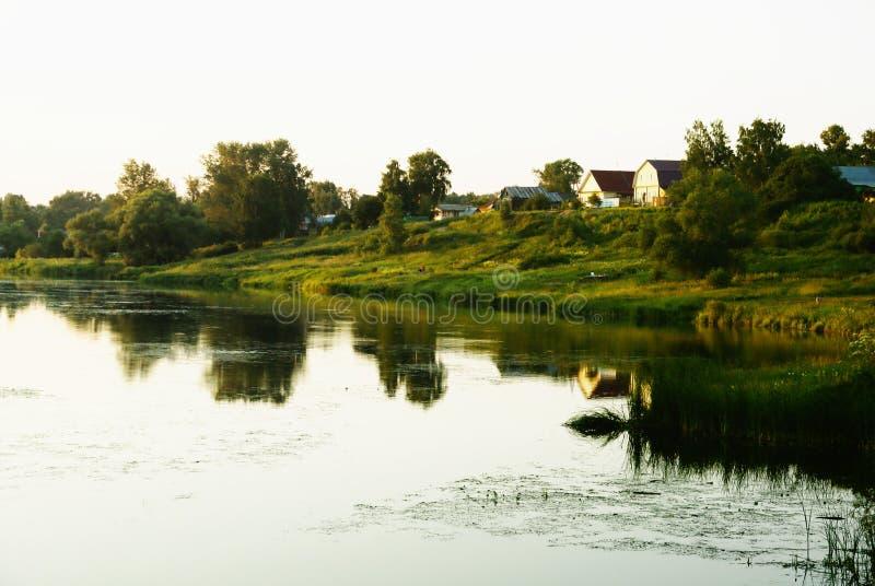 Русское село стоковое фото