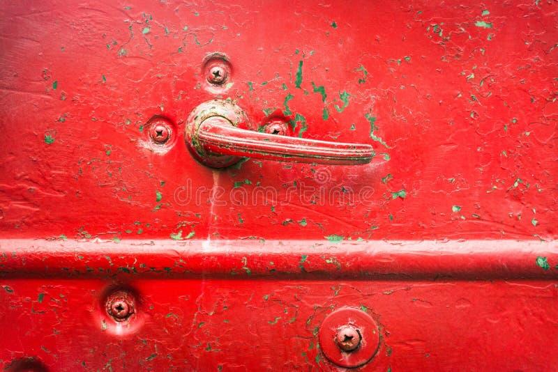 ручка двери автомобиля старая стоковое фото rf