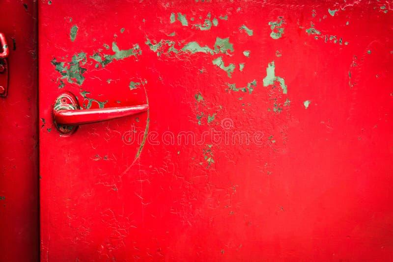 ручка двери автомобиля старая стоковое изображение