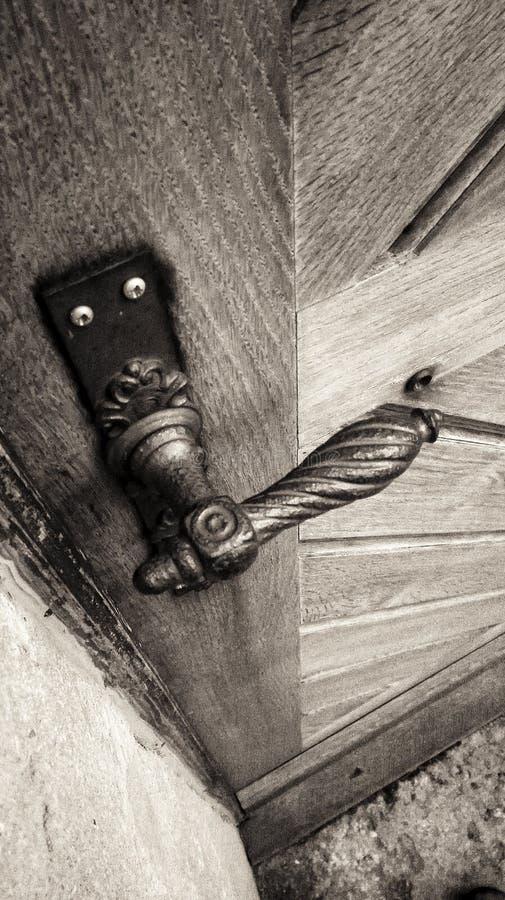 ручка двери ретро стоковое фото
