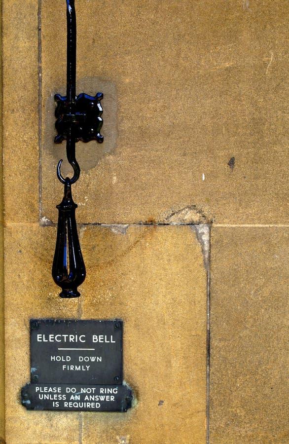 ручка колокола электрическая стоковые фото