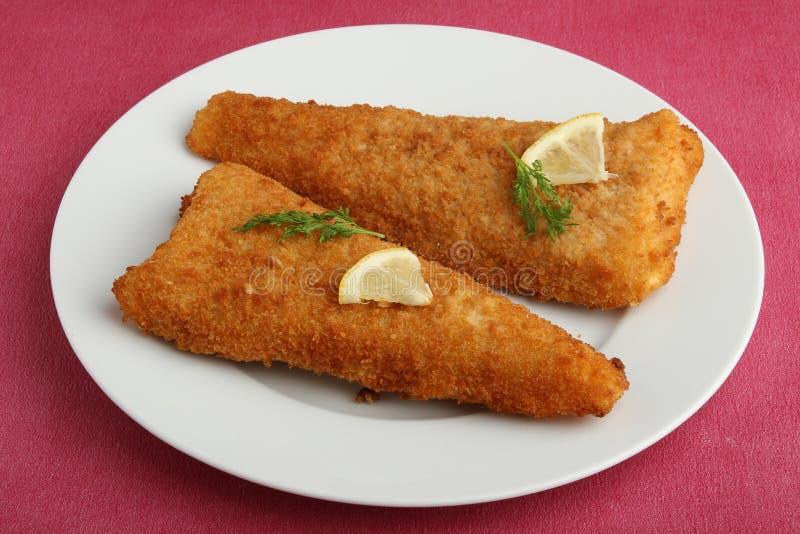 ручка плиты рыб стоковое фото