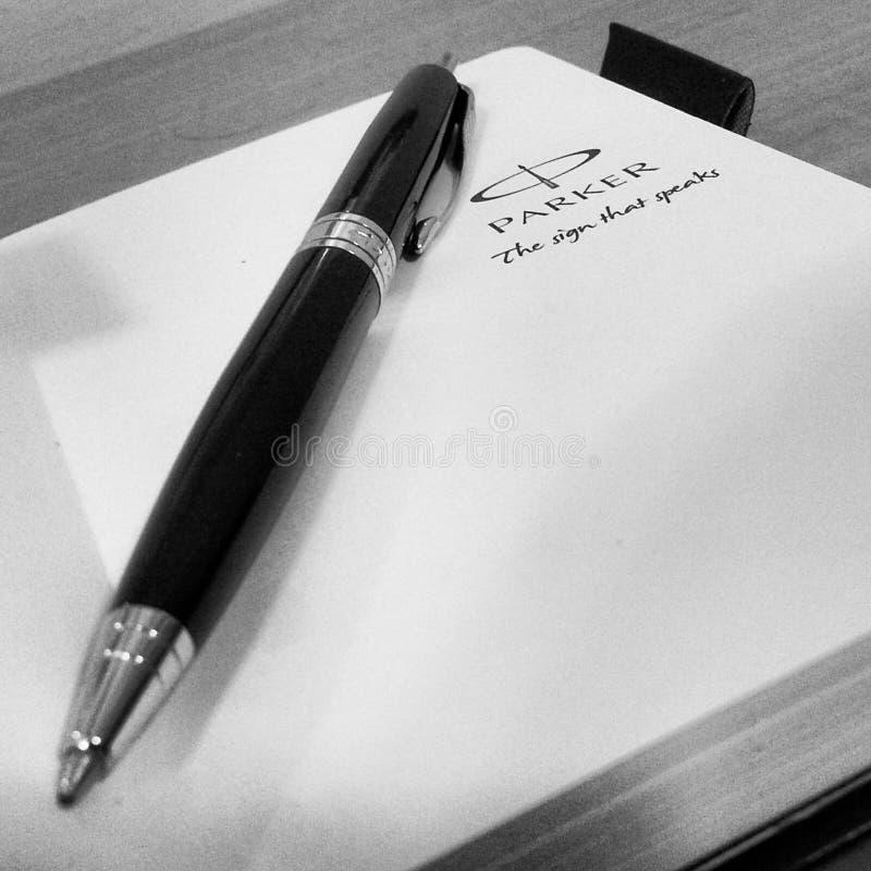 Ручка Parker стоковые изображения