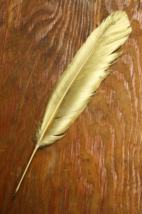 Download Ручка quill золота стоковое фото. изображение насчитывающей исключительнейше - 40584594