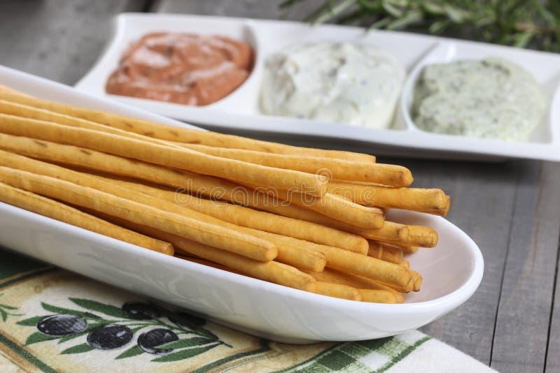 Ручки итальянского хлеба стоковое фото