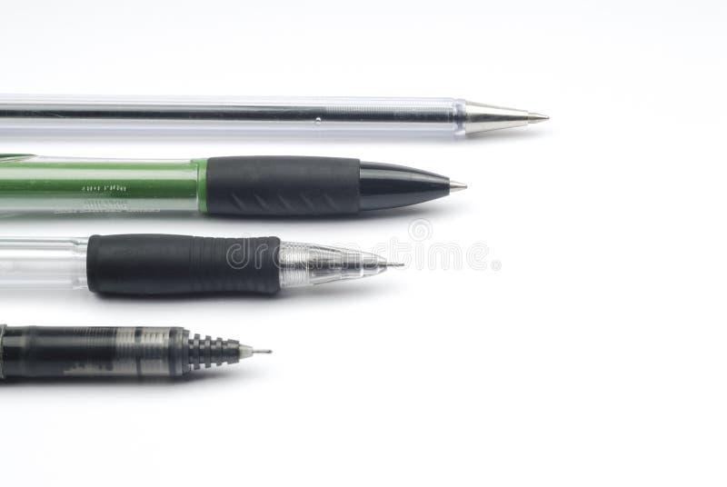 Ручки и карандаши стоковое изображение rf