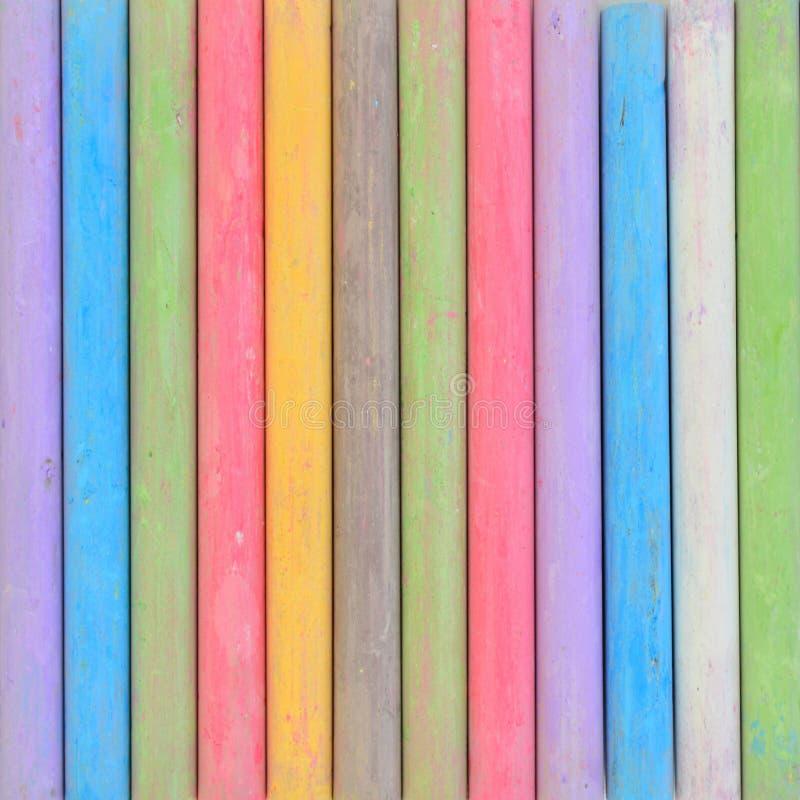 Ручки мела стоковое фото