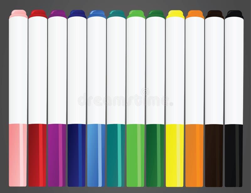 Ручки отметки бесплатная иллюстрация