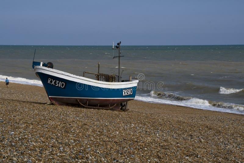 Рыбацкая лодка Brached стоковые фотографии rf