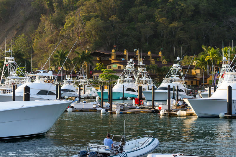 Рыбацкие лодки в Марине стоковое изображение