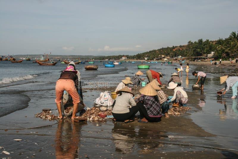 Download Рыбацкие лодки в море в Вьетнаме Редакционное Стоковое Фото - изображение насчитывающей небо, турист: 40588473