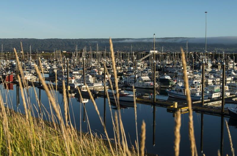 Рыбацкие лодки в habor стоковое фото