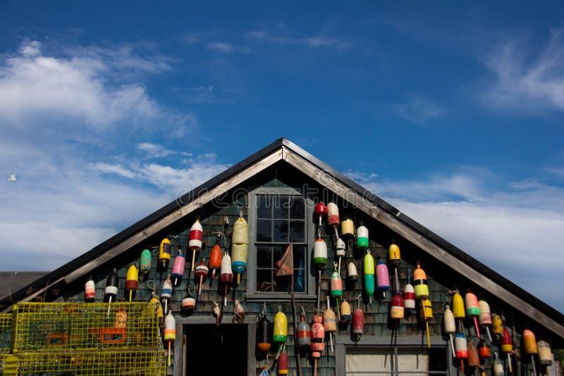 Рыбацкий домик омара стоковое фото