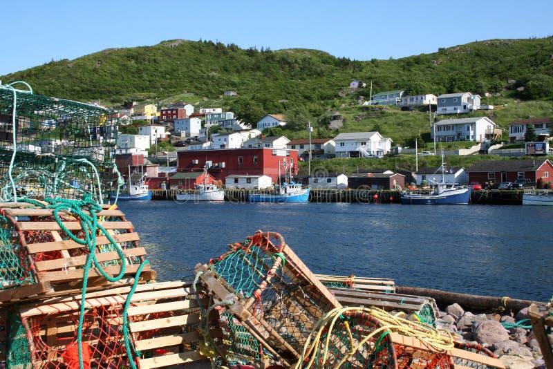 рыбацкий поселок стоковое фото