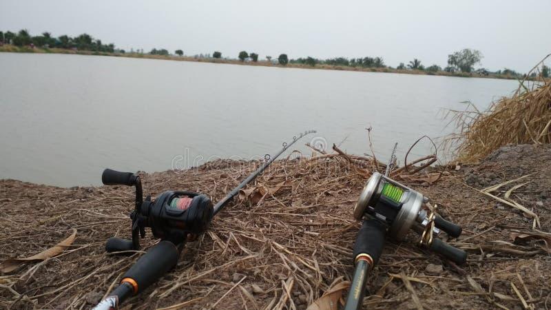 Рыбная ловля моя жизнь стоковые изображения rf