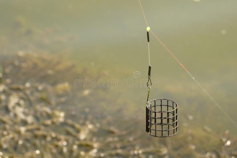 Рыбная ловля фидера стоковые изображения rf