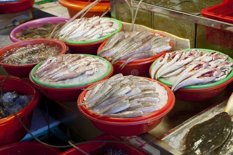 Рыбный базар стоковое изображение