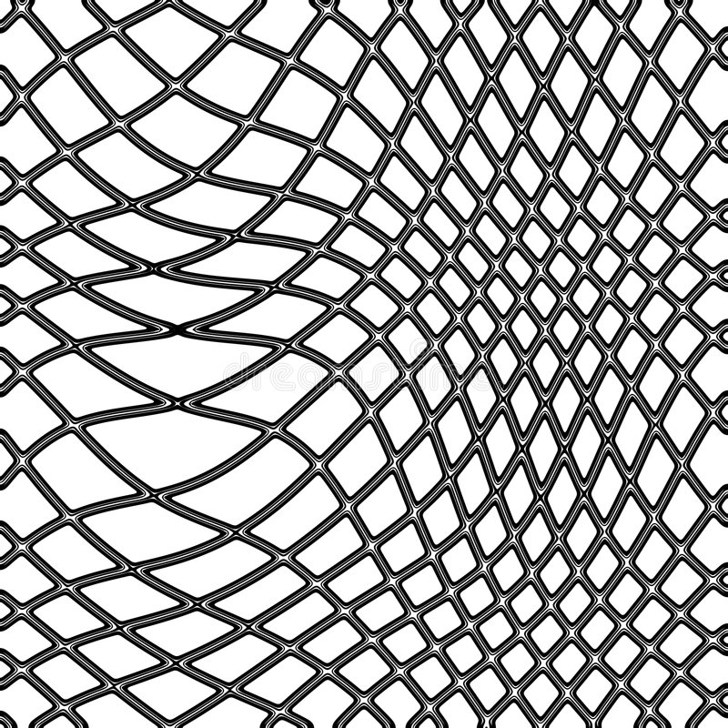 рыболовная сеть иллюстрация штока