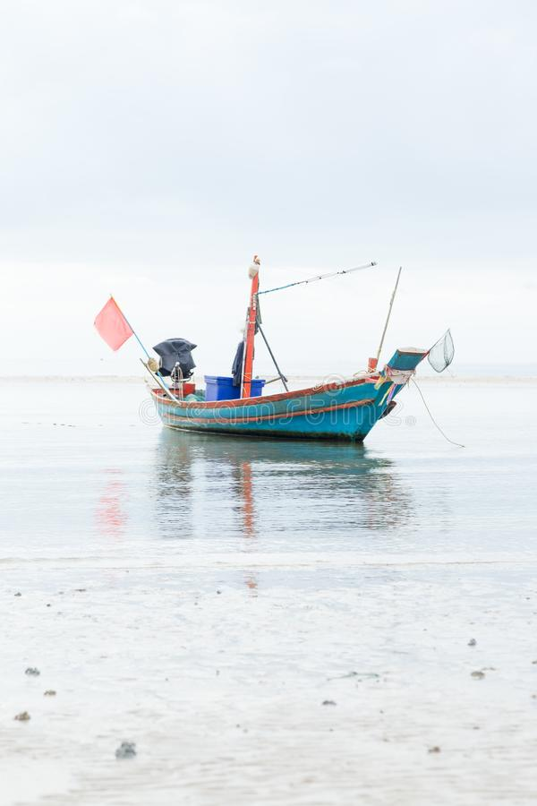 рыболовство шлюпки малое стоковое фото rf