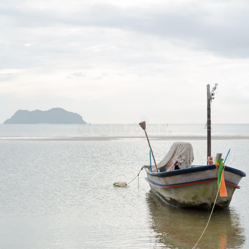 рыболовство шлюпки малое стоковая фотография