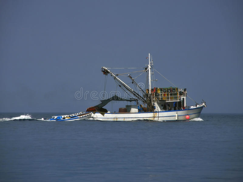 рыболовство шлюпки старое стоковые фотографии rf