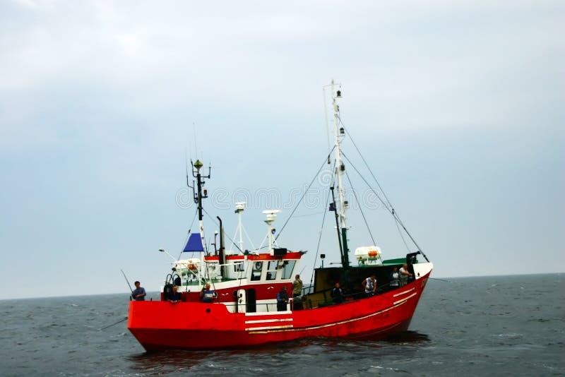 рыболовство шлюпки стоковое фото