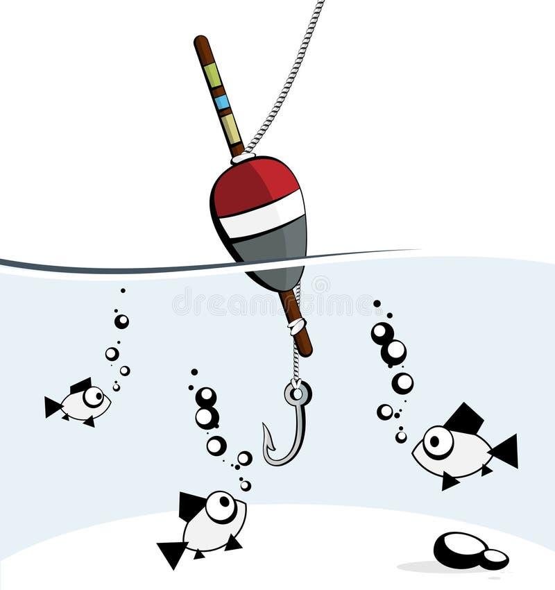 рыболовство иллюстрация вектора