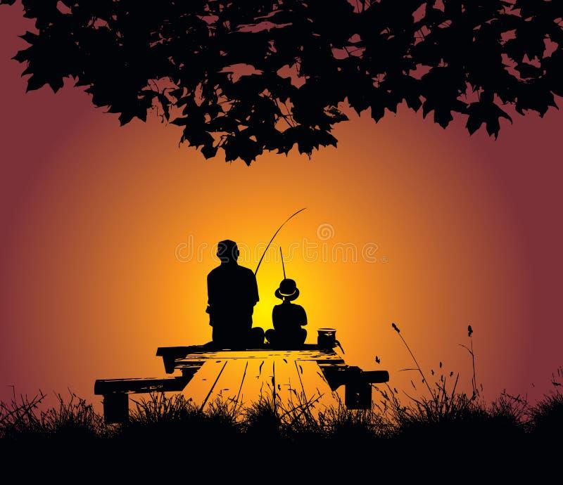 рыболовство бесплатная иллюстрация