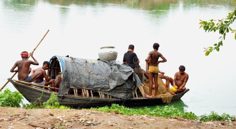 рыболовы индийские стоковое фото rf