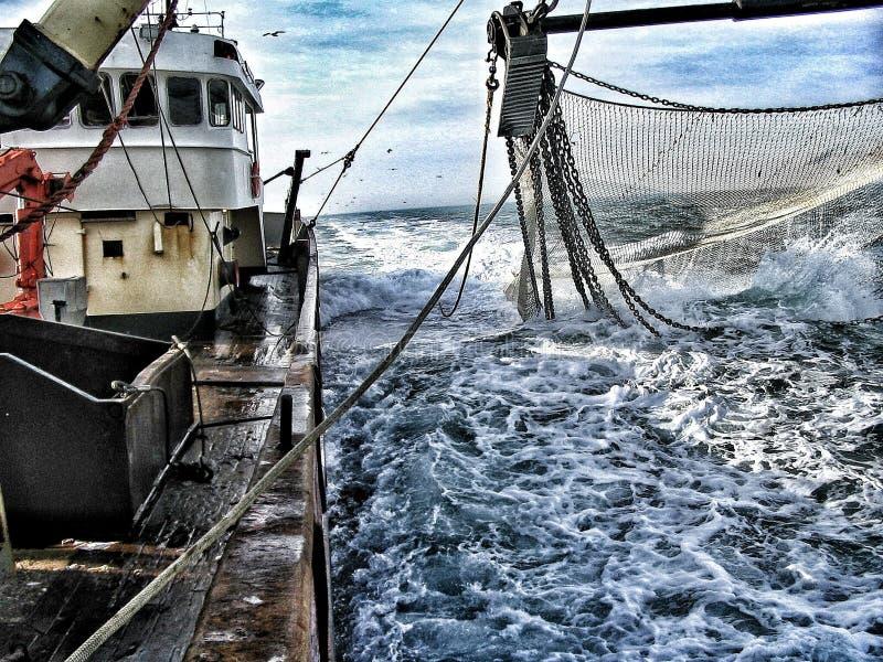 Рыболовецкое судно стоковые фотографии rf
