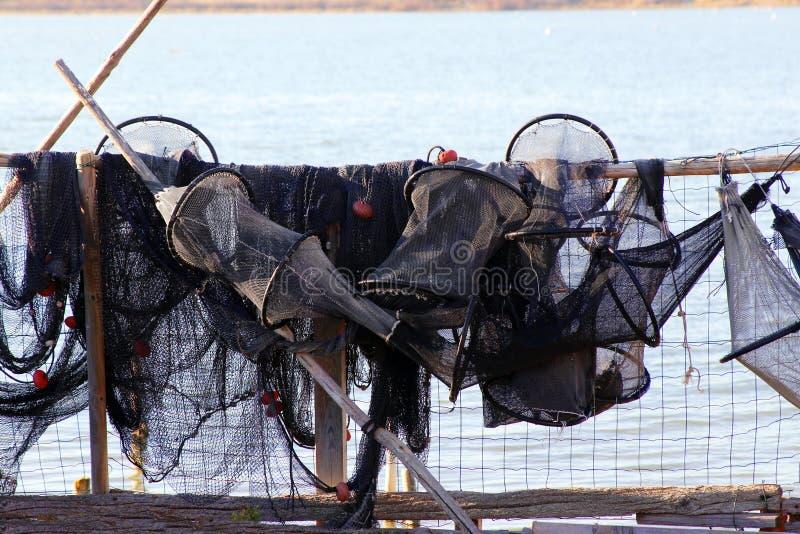 Рыболовная сеть стоковая фотография rf