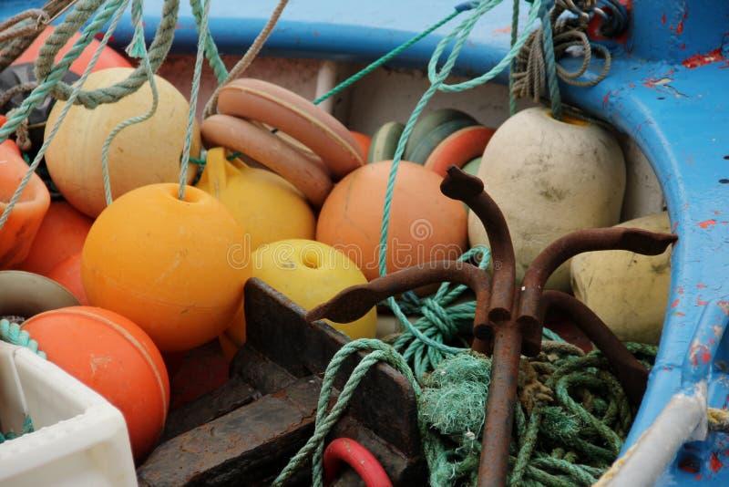 Рыболовные принадлежности стоковое фото rf