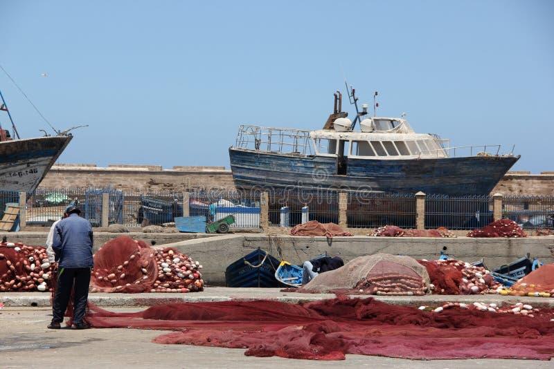 Рыболовные сети отладки стоковая фотография