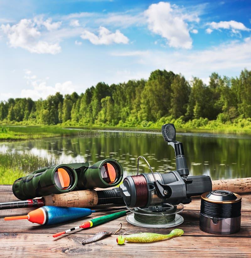 Рыболовные снасти стоковое фото