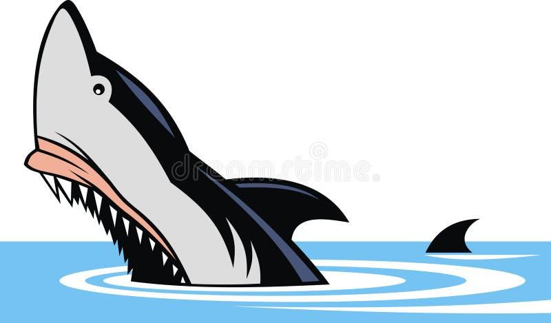 Рыбы акулы иллюстрация штока