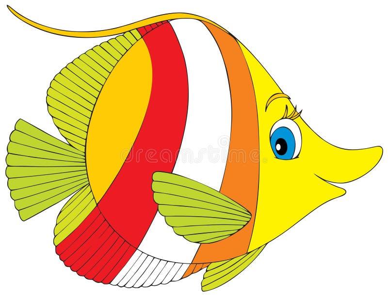 рыбы коралла иллюстрация вектора