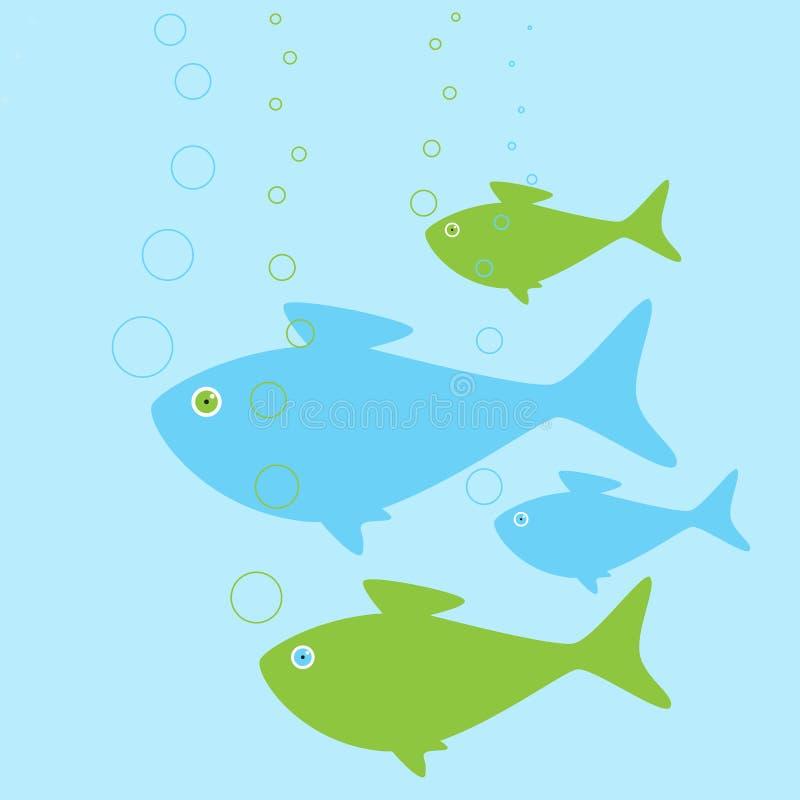 рыбы семьи бесплатная иллюстрация