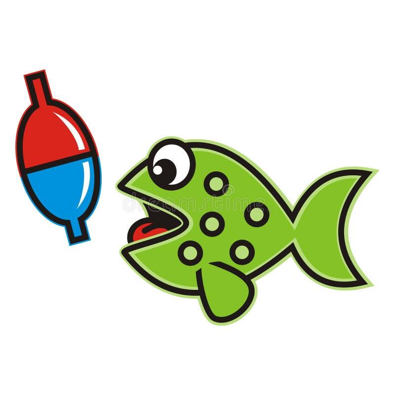 Рыбы, смешные иллюстрация штока