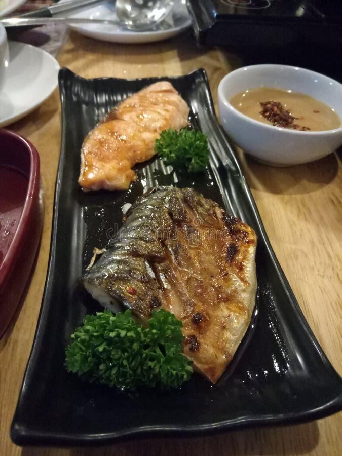 Рыбы Gril стоковая фотография