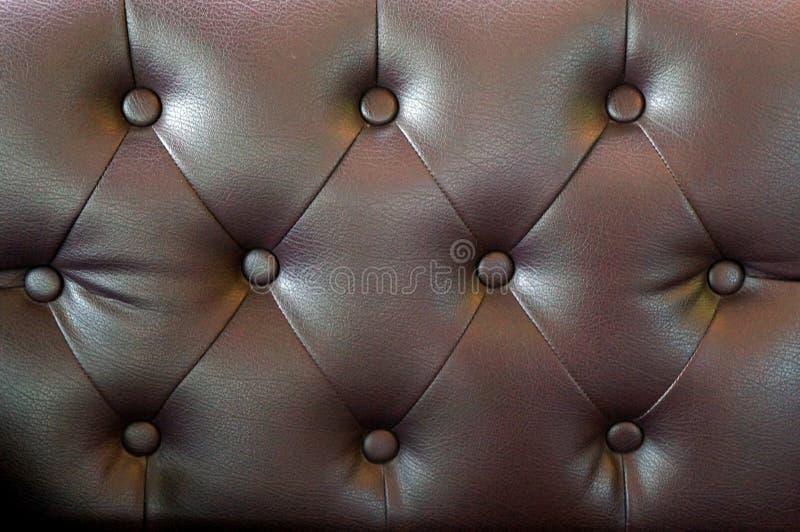 Рыжеватокоричневый цвет старой предпосылки текстуры кожи софы стоковые изображения rf
