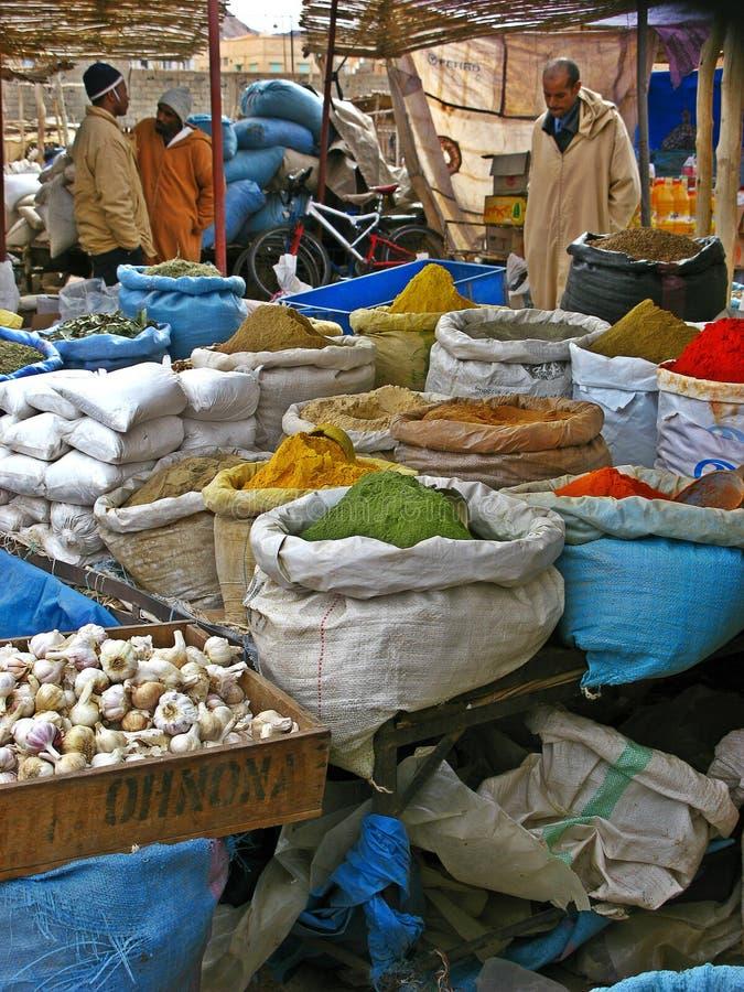 Рынок Загора, Марокко стоковое изображение