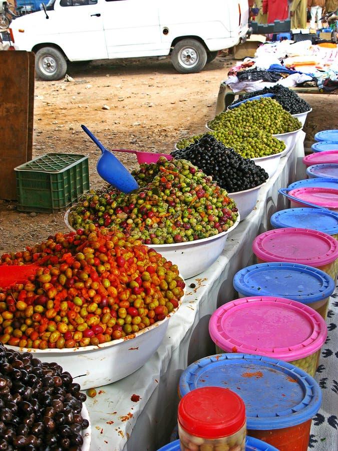 Рынок Загора, Марокко стоковое фото rf