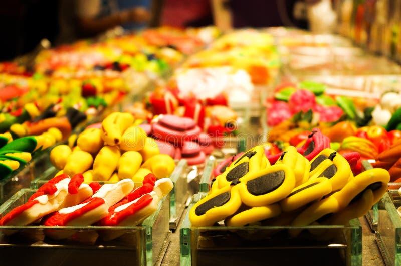 Рынок конфеты стоковые изображения rf