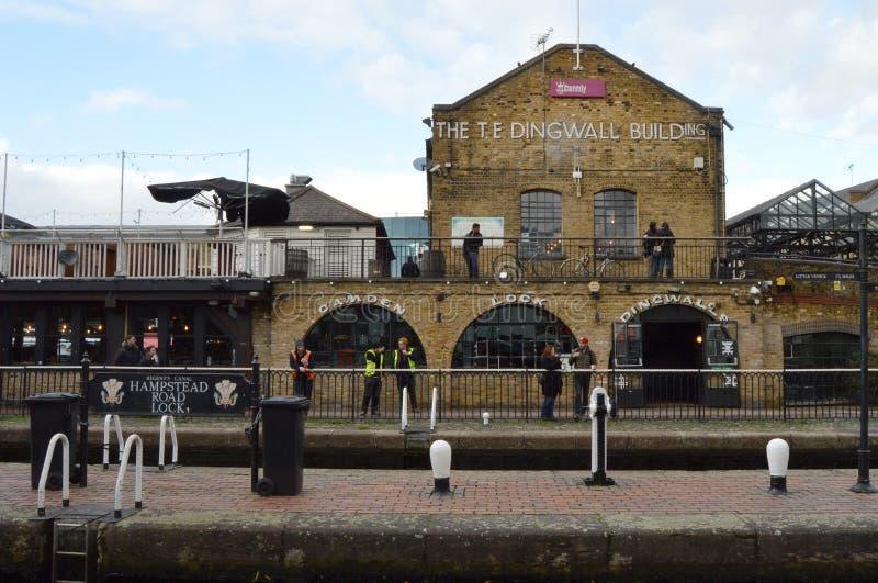 Рынок Лондон Camden стоковая фотография rf