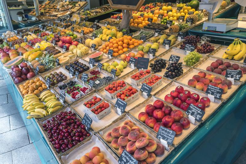 Рынок Мюнхен Германия Victuals стоковое фото rf