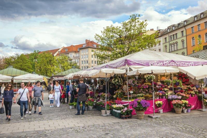 Рынок Мюнхен Германия Victuals стоковые фотографии rf