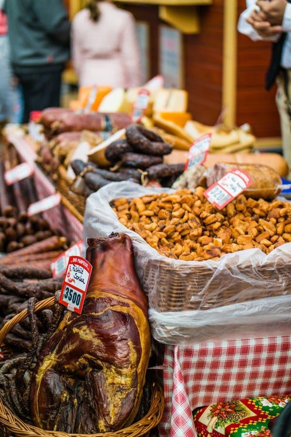 Рынок пасхи в Будапеште стоковые фото