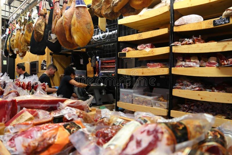 Рынок перерыва, Лиссабон стоковая фотография