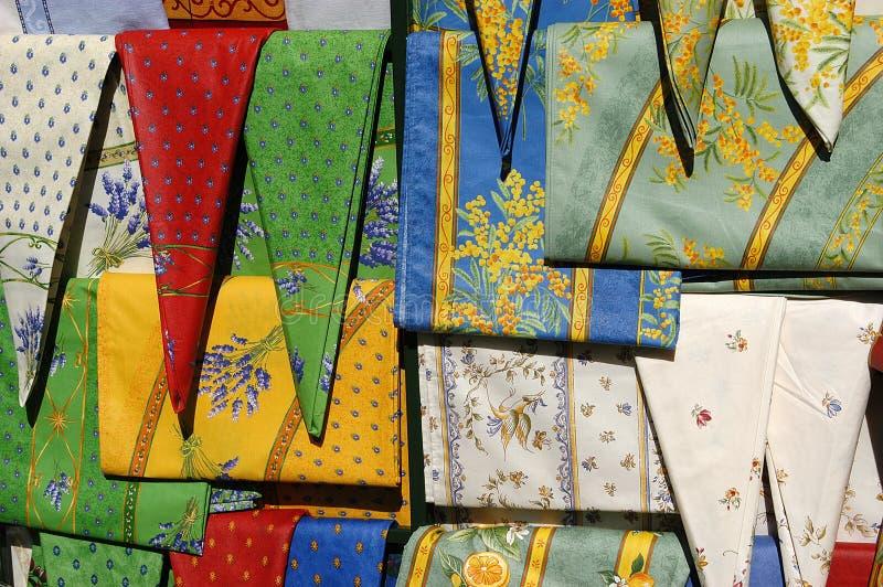 рынок ткани Стоковое Изображение