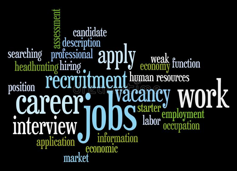 рынок труда бесплатная иллюстрация